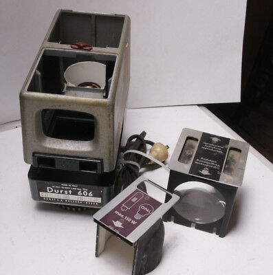 Durst 606 Enlarger Lamphouse Light Source Head Reversible Mirror Box - USED F37