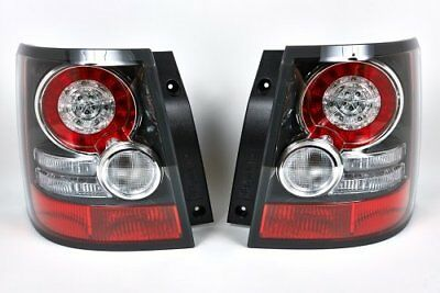 Pair Range Rover Sport Rear Led Tail Lights Genuine Upgrade Lamps Black Inserts