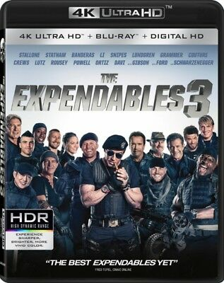 The Expendables 3 [4K+Blu-ray] New and Factory Sealed!!