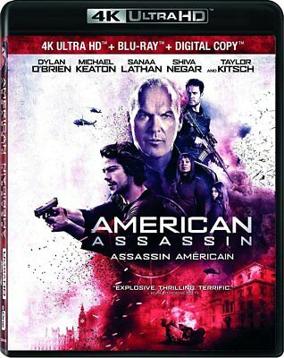 American Assassin [4K+Blu-ray] New and Factory Sealed!!