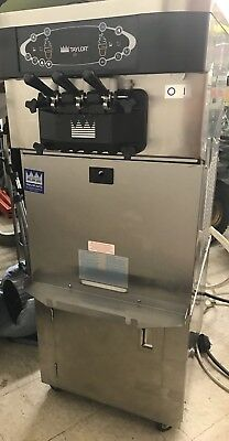 Taylor C723-27 Soft Serve Ice Cream Machine w/ Rolling Storage Stand