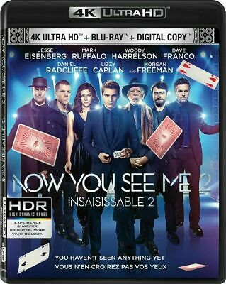 Now You See Me 2 [4K+Blu-ray] New and Factory Sealed!!