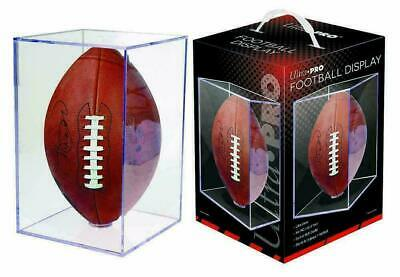 - DAMAGED - NEW Ultra Pro Football Clear Square Holder In Box