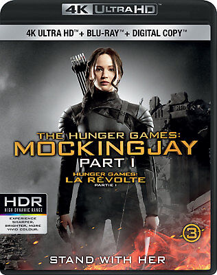The Hunger Games: Mockingjay Part 1 [4K+Blu-ray] New and Factory Sealed!!