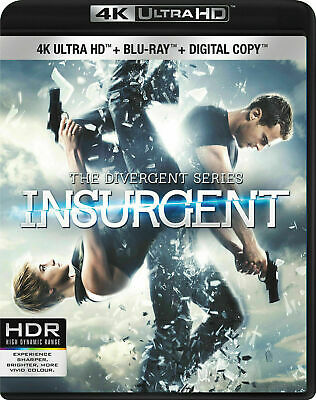 Divergent: Insurgent [4K+Blu-ray] New and Factory Sealed!!