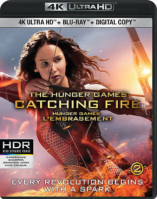 The Hunger Games: Catching Fire [4K+Blu-ray] New and Factory Sealed!!