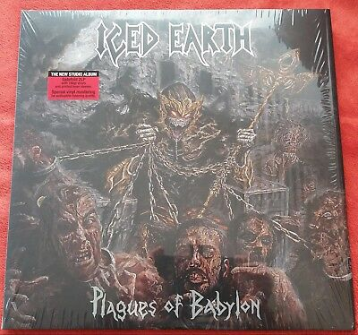 ICED EARTH PLAGUES OF BABYLON 2 LP 180G special Mastering /FOC & OIS / MINT