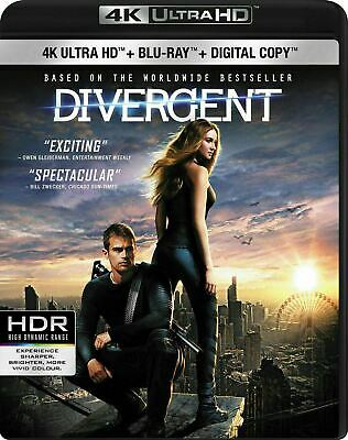 Divergent [4K+Blu-ray] New and Factory Sealed!!