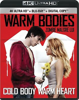 Warm Bodies [4K+Blu-ray] New and Factory Sealed!!