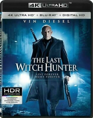The Last Witch Hunter [4K+Blu-ray] New and Factory Sealed!!