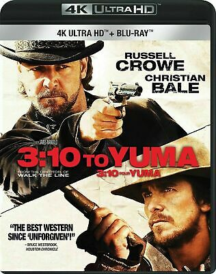 3:10 to Yuma [4K+Blu-ray] New and Factory Sealed!!