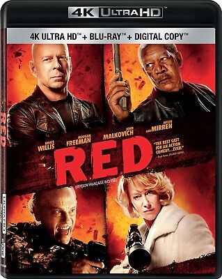Red [4K+Blu-ray] New and Factory Sealed!!