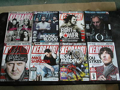 Kerrang Magazines February / March Issues 1708 - 1715 Posters + Art Prints
