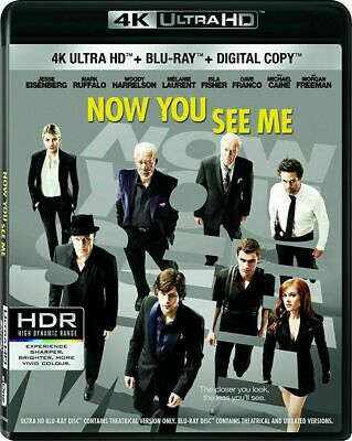 Now You See Me [4K+Blu-ray] New and Factory Sealed!!