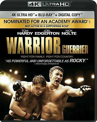 Warrior [4K+Blu-ray] New and Factory Sealed!!