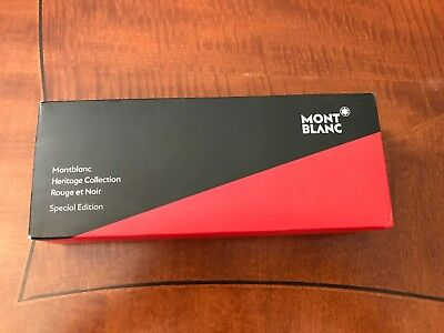 Montblanc Heritage Collection Rouge Et Noir Rollerball Pen 114723