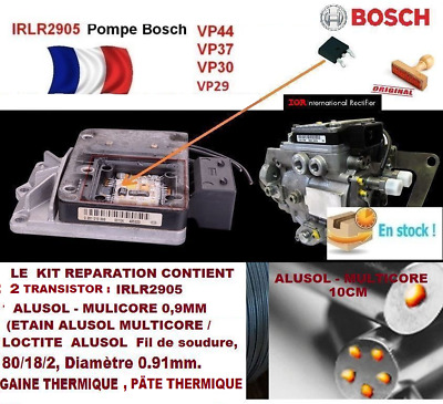kit reparation pompe injection BOSCH VP29 VP30 VP44 PSG16 2 X IRLR2905 + alusol