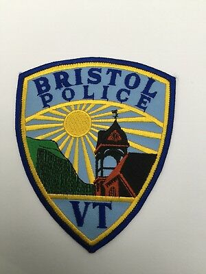 Bristol Police, Vermont old shoulder patch