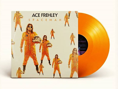 Ace Frehley Spaceman Limited Edition Orange Colored Vinyl Lp Kiss Sold Out