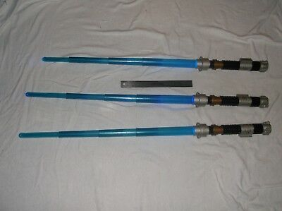 star wars-electronic lightsabers-lot of 3-obi won-2000s-fair