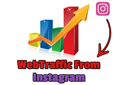 Web Traffic From Instagram,1.000 Unique REAL Hits to  You Website From Instagram