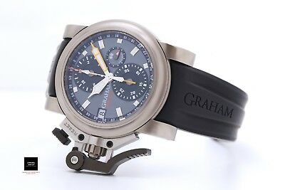 GRAHAM Chronofighter Oversize Airwing Titanium