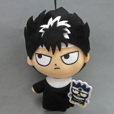 NEW Eikoh Yu Yu Hakusho X Bad Badtz-Maru 16cm Hiei Plush Doll E74588 US Seller