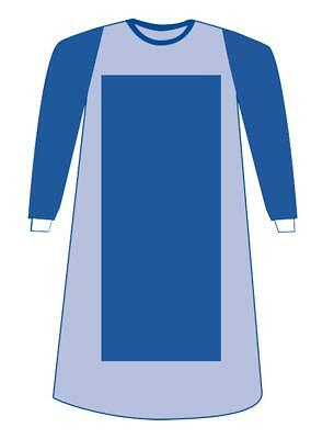 Sterile PR Eclipse Surgical Gowns with Prevention Plus Sleeve, Blue, XL 20 EA