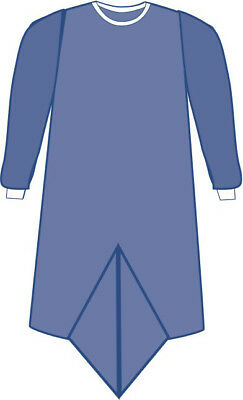 Medline Prevention Sterile Surgical Gown-Impervious w/Pleat-XL-PK 30-DYNJP2304