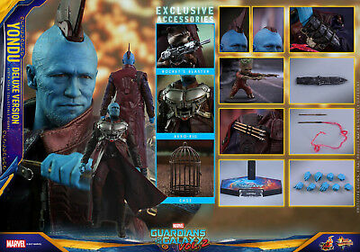 Hot Toys - Guardians of the Galaxy V2 Yondu Deluxe  1:6 Scale Figure (MMS 436)