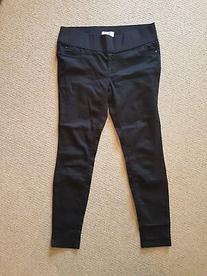 Black Skinny Under The Bump Maternity Jeans New Look size 14