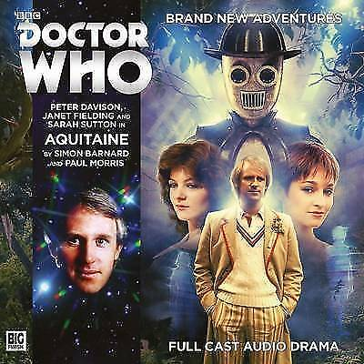 Doctor Who - Aquitaine - CD Audiobook - New & Sealed