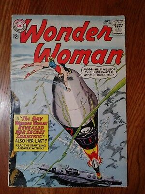 Wonder Woman #139 1963 Silver Age DC Comics