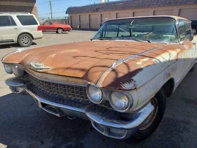 1960 Cadillac DeVille Flat Top 1960 Cadillac DeVille Flat Top SHELL ONLY, FOR PARTS, NO ENGINE OR TRANSMISSION.