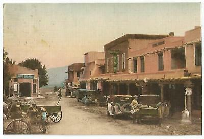 Taos New Mexico NM ~ Travis Garage & Montaneo Theatre Theater 1931