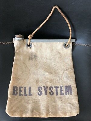 VINTAGE BELL SYSTEM Radiator FLAX WATER BAG PUEBLO TENT & AWNING CO. CIRCA 1940s