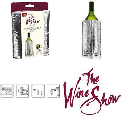 The Wine Show By Vacu Vin Active Cooler, Silver