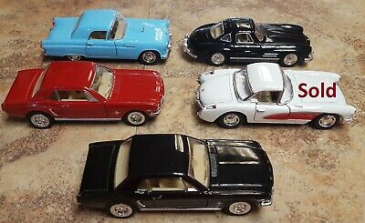 Kinsmart Diecast Model Toy Cars 1:36 - Like New - Choose Which One