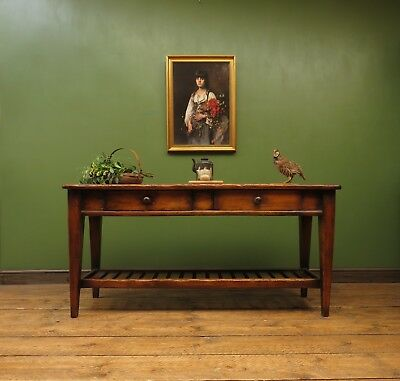 Wooden Dresser Base Console Table with Undertier, Brights of Nettlebed