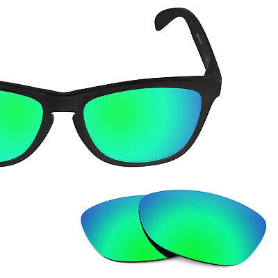 Revant Replacement Lenses for Oakley Frogskins - Emerald Green Polarized