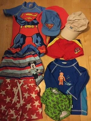 Boys Swimming Bundle With Swim I Play Swim Nappy Age 12-18 Months
