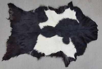 Goathide Western taxidermy Rug Cow Natural Pattern Fur Goat Skin MB-2323