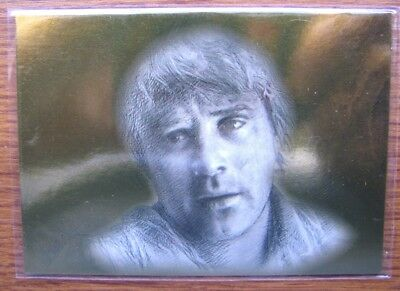 Lord Of The Rings Masterpieces Gold Foil Parallel Card - Sam 85/99 Rare