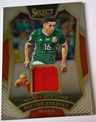 Select Soccer 2016/2017 Select Swatches Hector Herrera Mexico 029/199