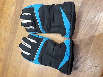 Boys ski gloves to fit age 8 to 10