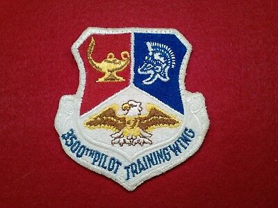 U.s.a.f...3500Th Pilot Training Wing.70's, Pre-Owned, Authentic.