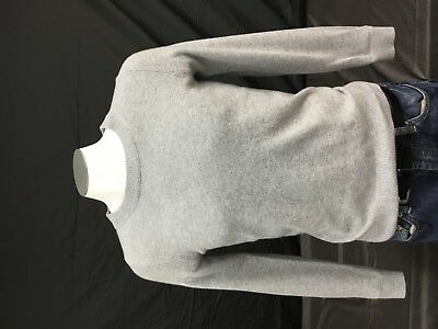 Men's Grey Cashmeir Sweater