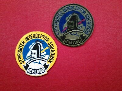 U.s.a.f...57Th Fighter Interceptor Squadron, F-4's, Authentic Used, 70's