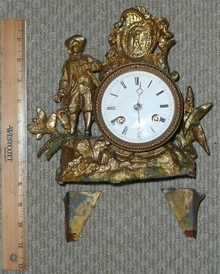Antique Clock For Parts Or Repair