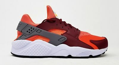 more photos 310fc d3137 Nike Air Huarache Men s Shoes Gunsmoke Team Red-Rush Coral 318429 054